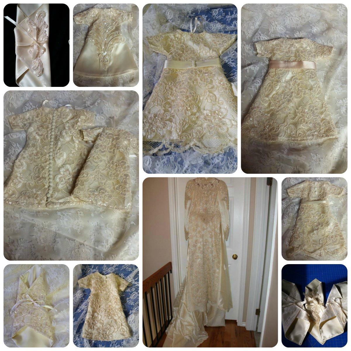 Donated by Carol DeMossiac Seamstress Michele O'Callaghan